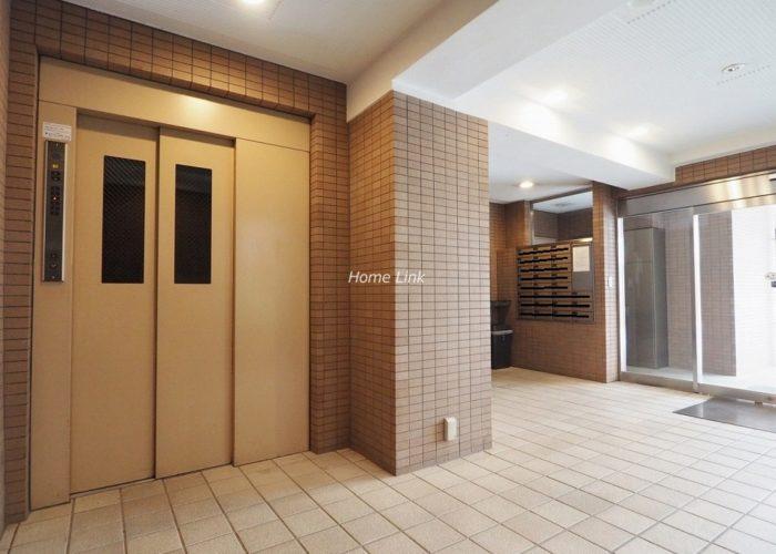 シティライブ常盤台 エレベーターホール