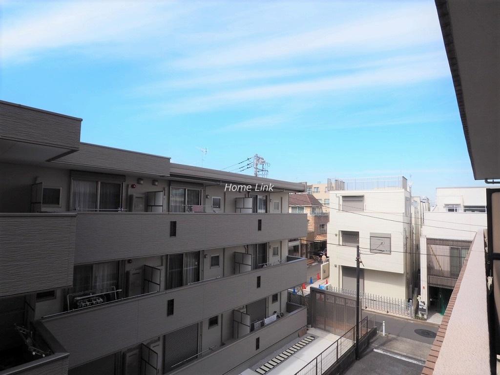 シティライブ常盤台3階 バルコニーからの眺望
