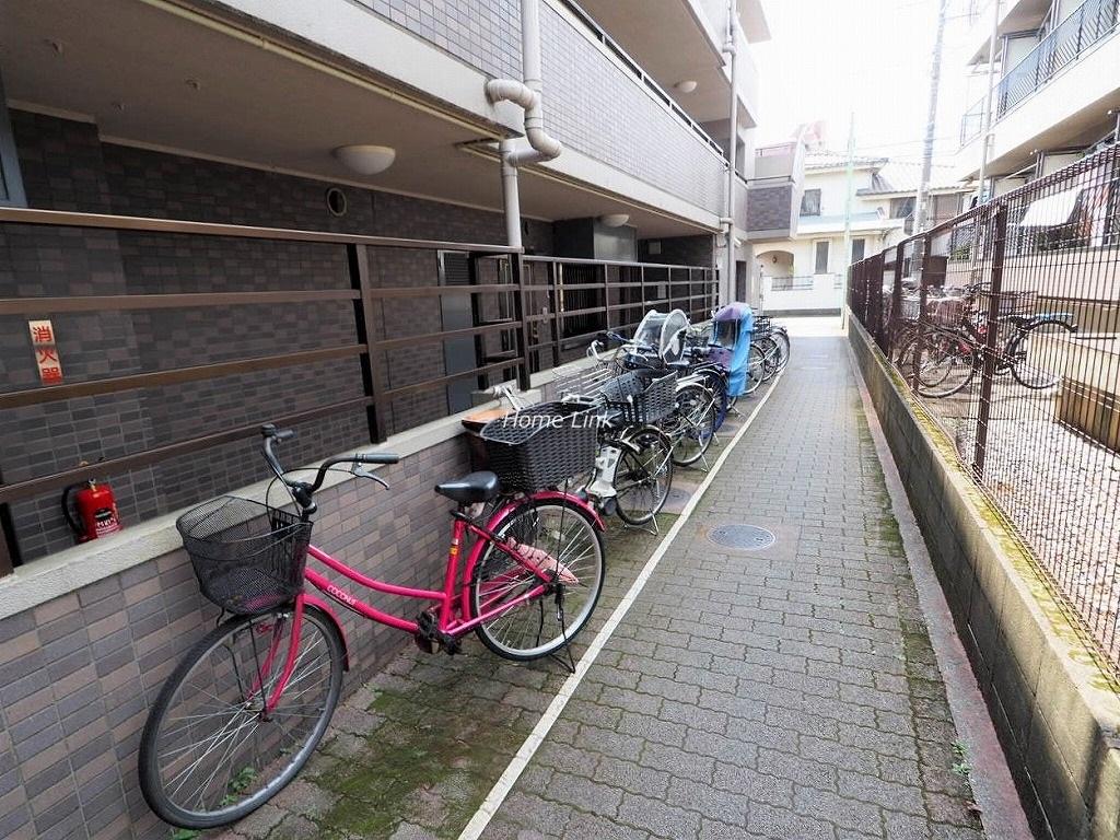 レーベンハイム常盤台 駐輪場