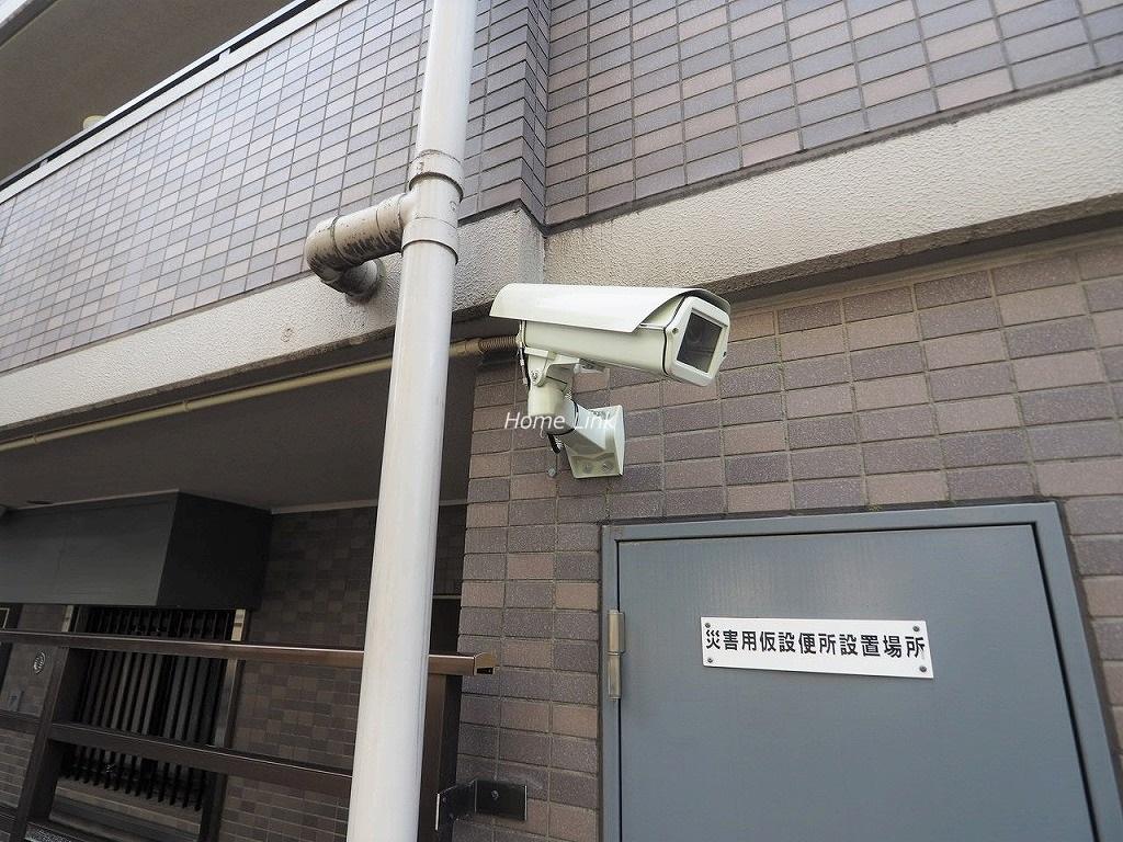 レーベンハイム常盤台 防犯カメラ