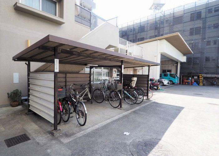 中板橋サニーコーポ 駐輪場