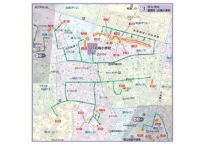 土砂災害ハザードマップ(徳丸地域)
