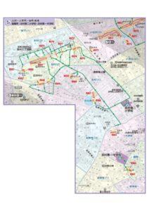 土砂災害ハザードマップ(志村・大原・泉町地域)