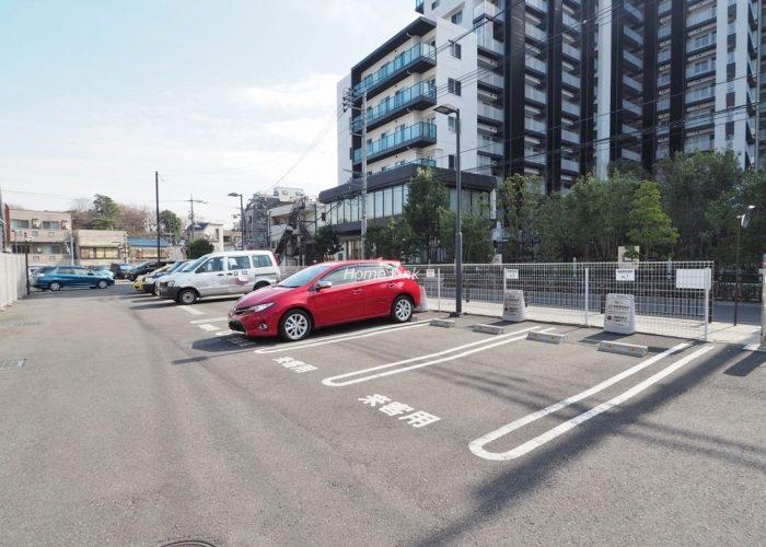 シティテラス成増 来客用駐車場