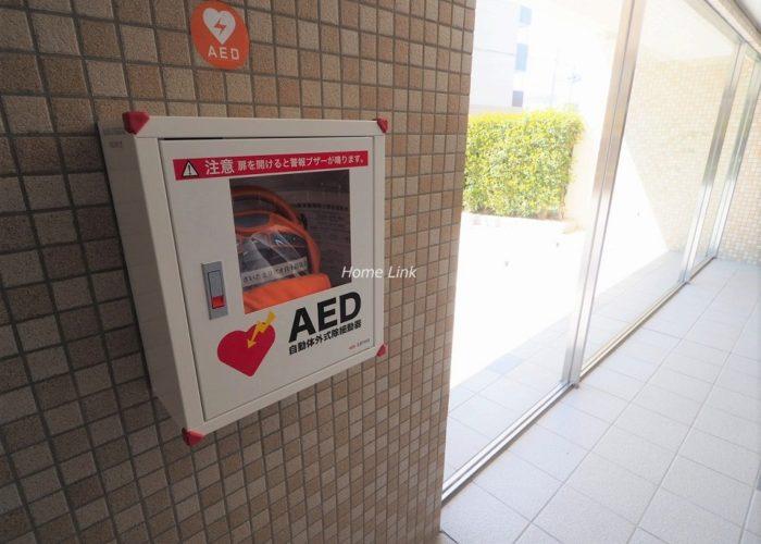 リビオ浦和上木崎グランセーヌ AED設置