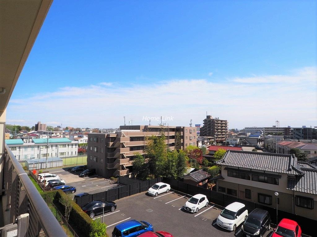 リビオ浦和上木崎グランセーヌ4階 バルコニーからの眺望