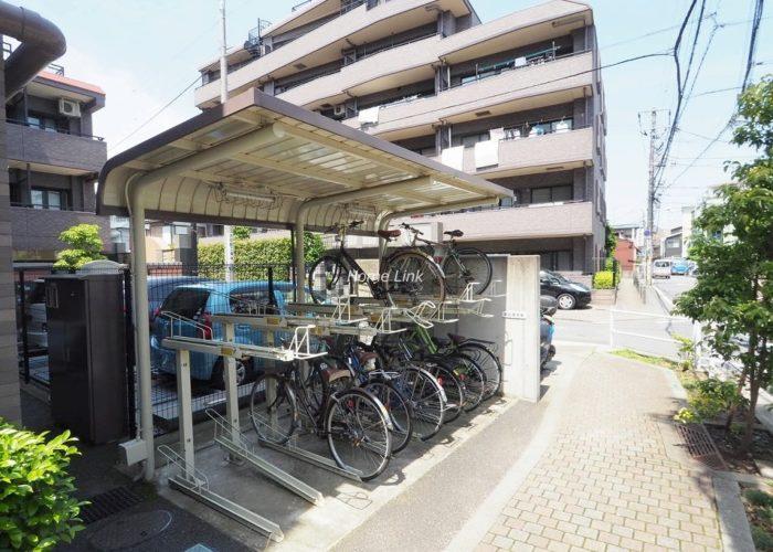 レーベンハイム常盤台エルステージⅡ 駐輪場