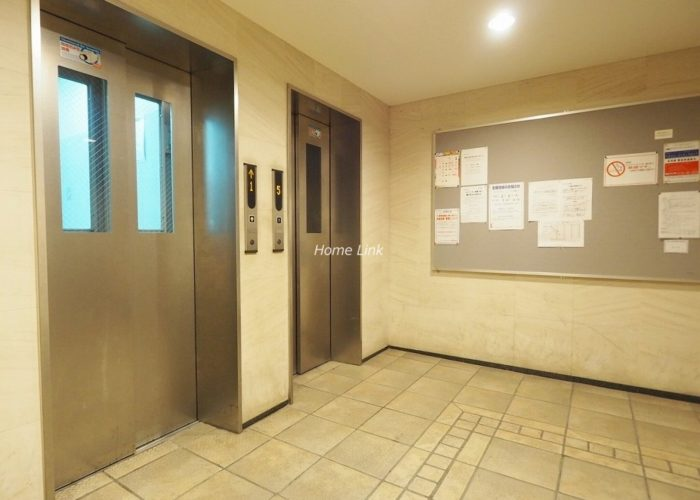 レーベンハイム志村プレノルガール エレベーターホール