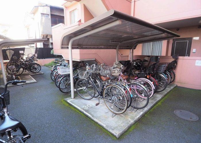 エクセレントシティ本蓮沼 住戸専用無償駐輪場