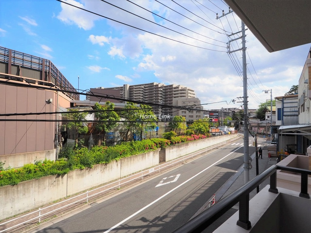 グランシティ志村坂上2階 バルコニーからの眺望