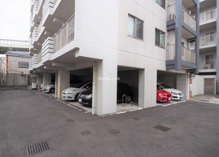 志村レジデンス 駐車場