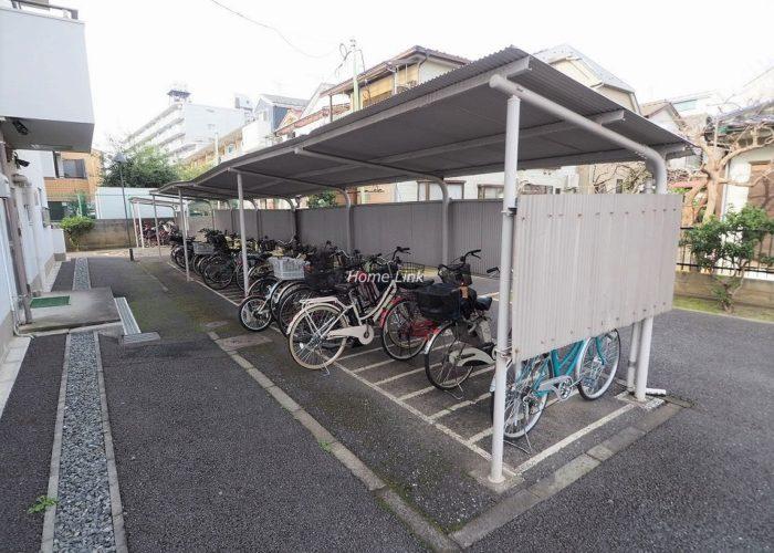 志村三丁目フラワーホーム 駐輪場