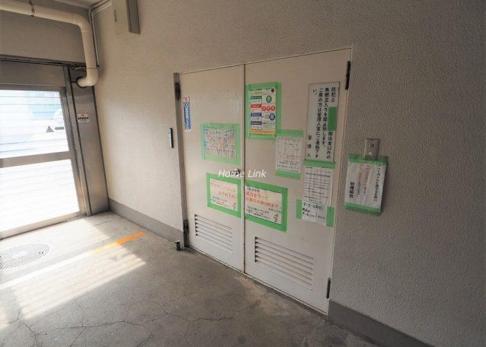 志村三丁目フラワーホーム ゴミ置き場