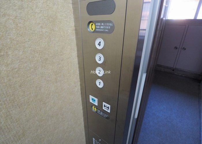 成増パークホームズ エレベーター停止階