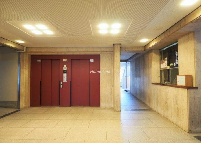 新ときわ台ローヤルコーポ エレベーターホール