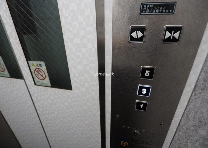 東急ドエルアルス志村坂上 エレベーター停止階