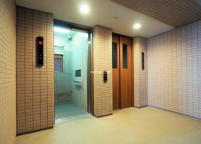ときわ台メリーガーデン エレベーターホール