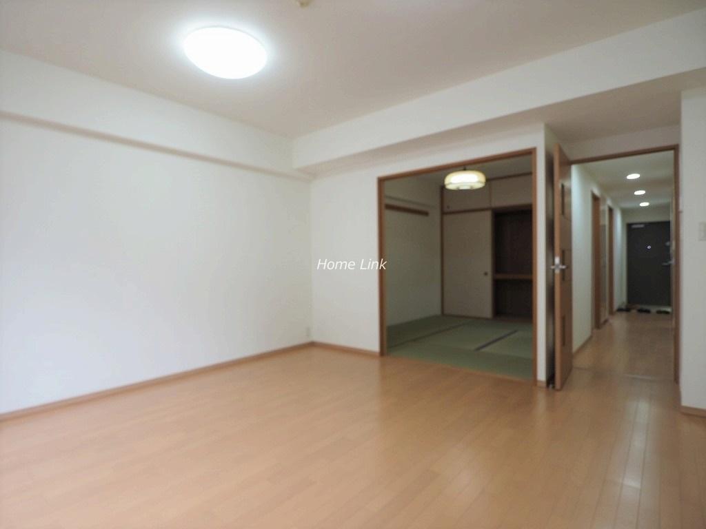 ときわ台メリーガーデン2階 リビングから和室