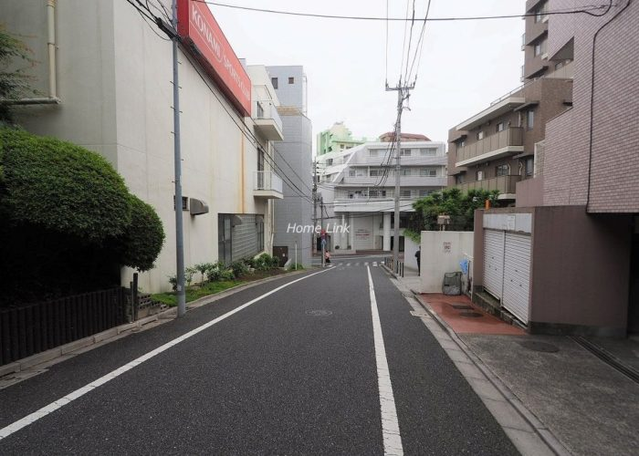 コスモ成増 前面道路