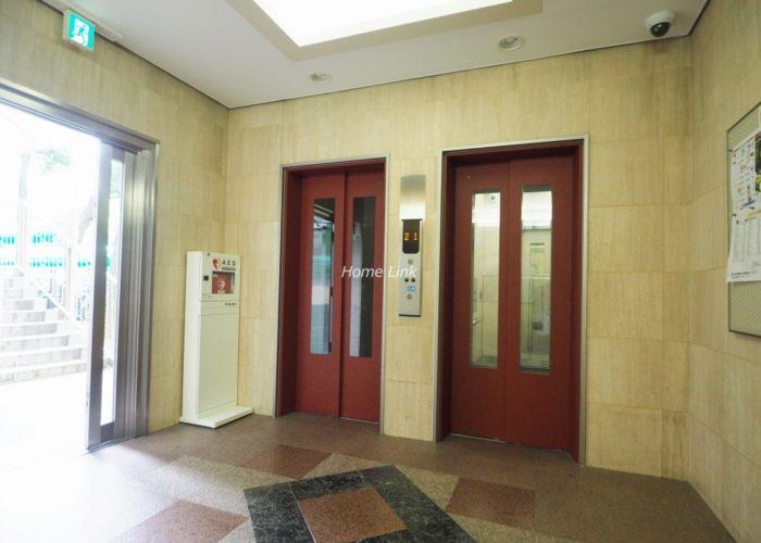 サンシティF棟 エレベーターホール
