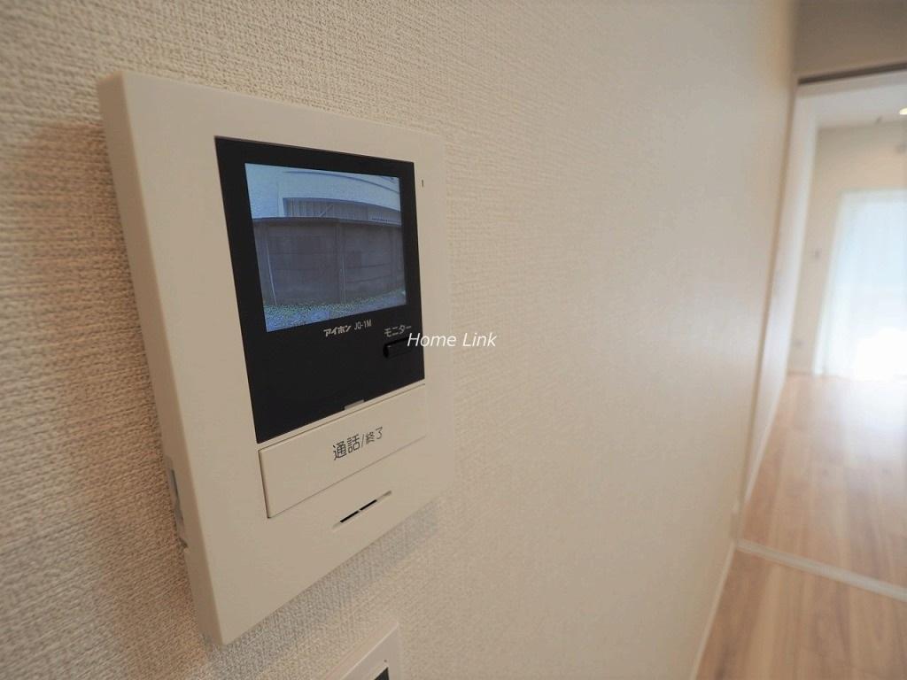 サンシュウ常盤台第1コーポ1階 TVモニター付きインターホン