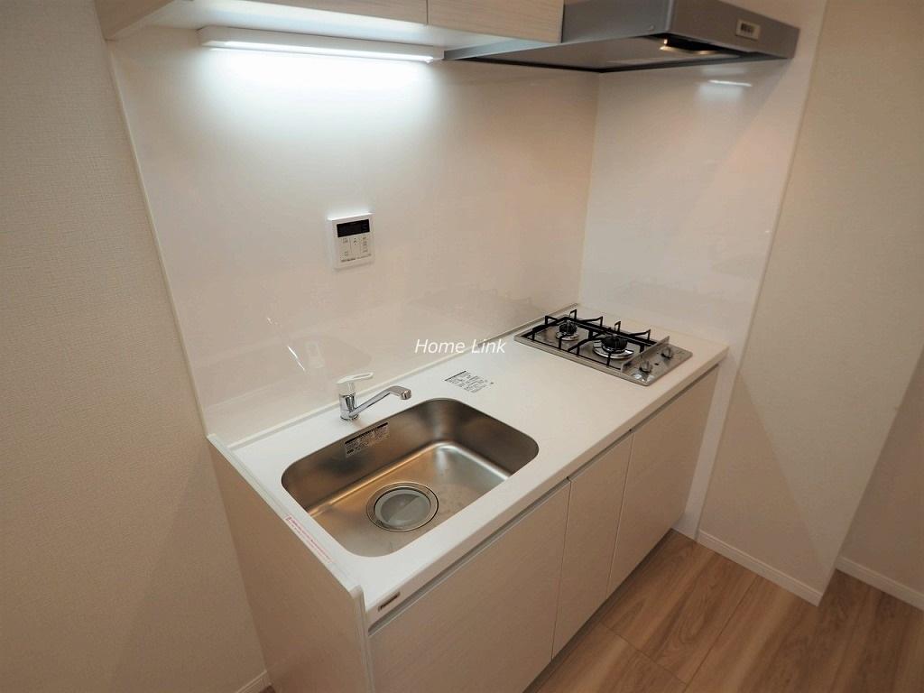 サンシュウ常盤台第1コーポ1階 キッチン人工大理石トップ
