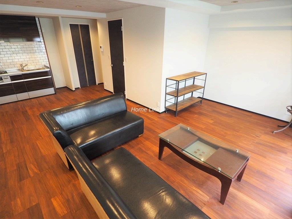 サンシュウ常盤台第3コーポ1階 LDKは約20帖の大空間