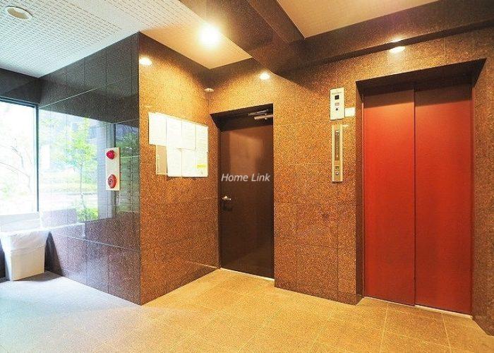 ソレイユ高島平Ⅰ エレベーターホール