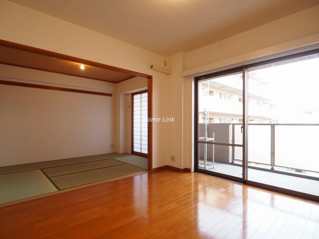 ルピナス赤塚ツインズガーデン弐番館3階 リビング和室は一体の大空間に