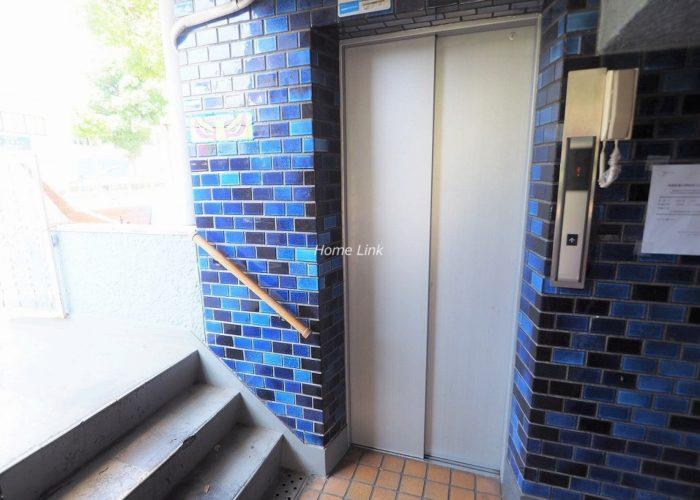 常盤台カーネル エレベーターホール