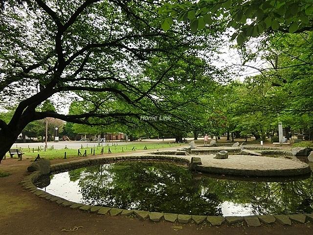 前野町ハイツ3号棟周辺環境 平和公園