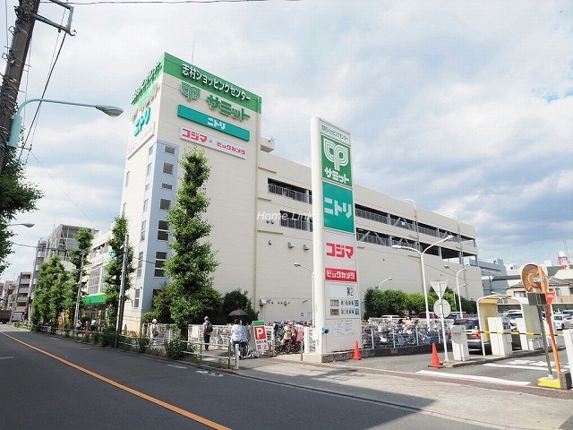 サンシティF棟周辺環境 志村ショッピングセンター