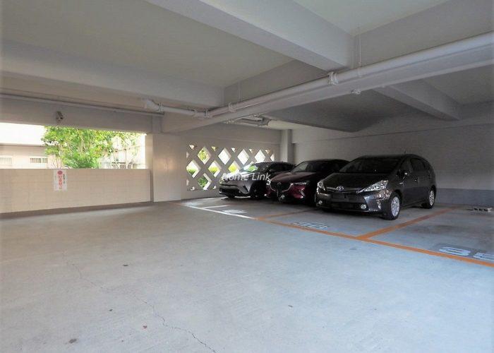 蓮根スカイマンション 駐車場