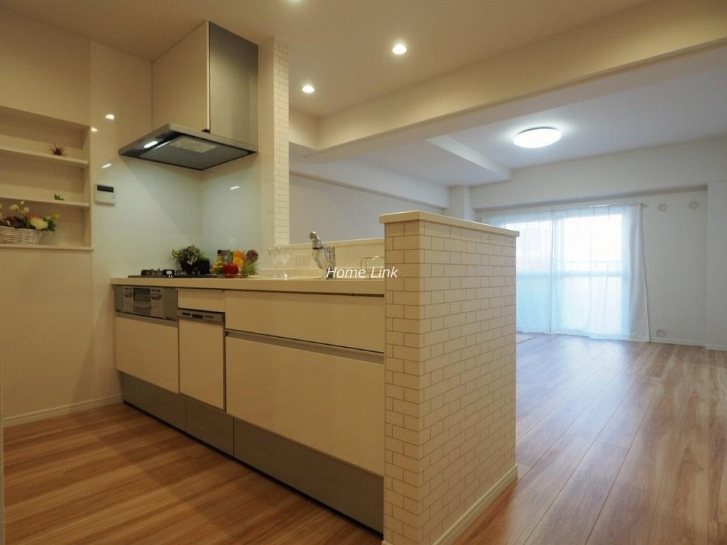 蓮根スカイマンション2階 対面キッチン
