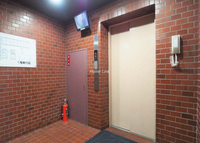 蓮根スカイマンション エレベーターホール