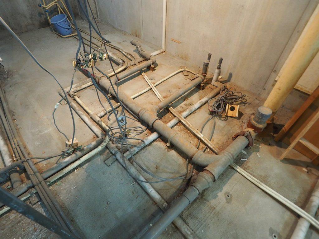 築40年の排水管