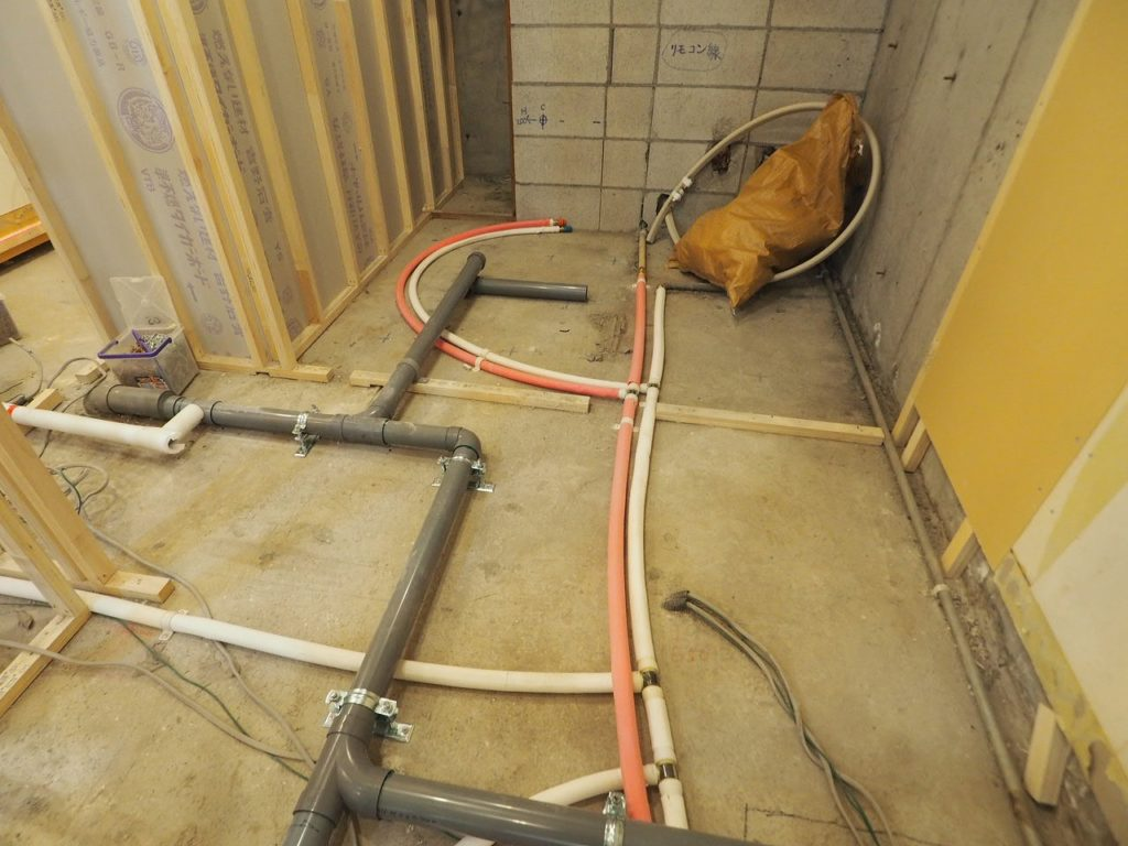 給排水管の交換