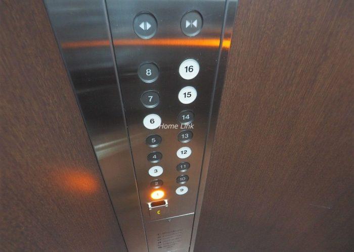 サンシティH棟 エレベーター停止階