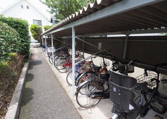 セピアコート並木 駐輪場