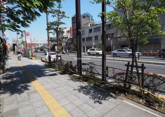 ゼファー大山ファムエール 前面道路歩道