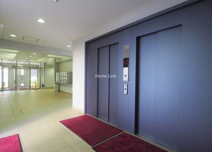 パシフィック武蔵野台ニューハイツ エレベーターホール