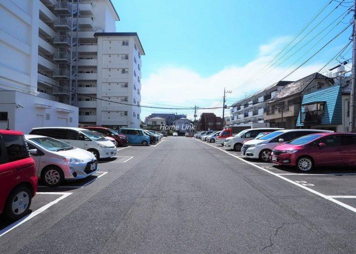 パシフィック武蔵野台ニューハイツ 駐車場