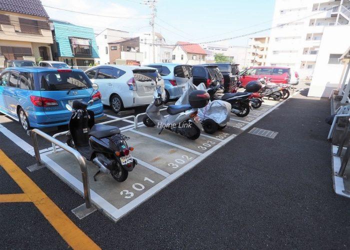パシフィック武蔵野台ニューハイツ バイク置場