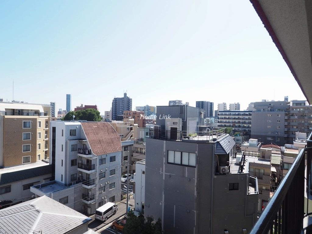 メゾンゴールド7階 最上階からの眺望