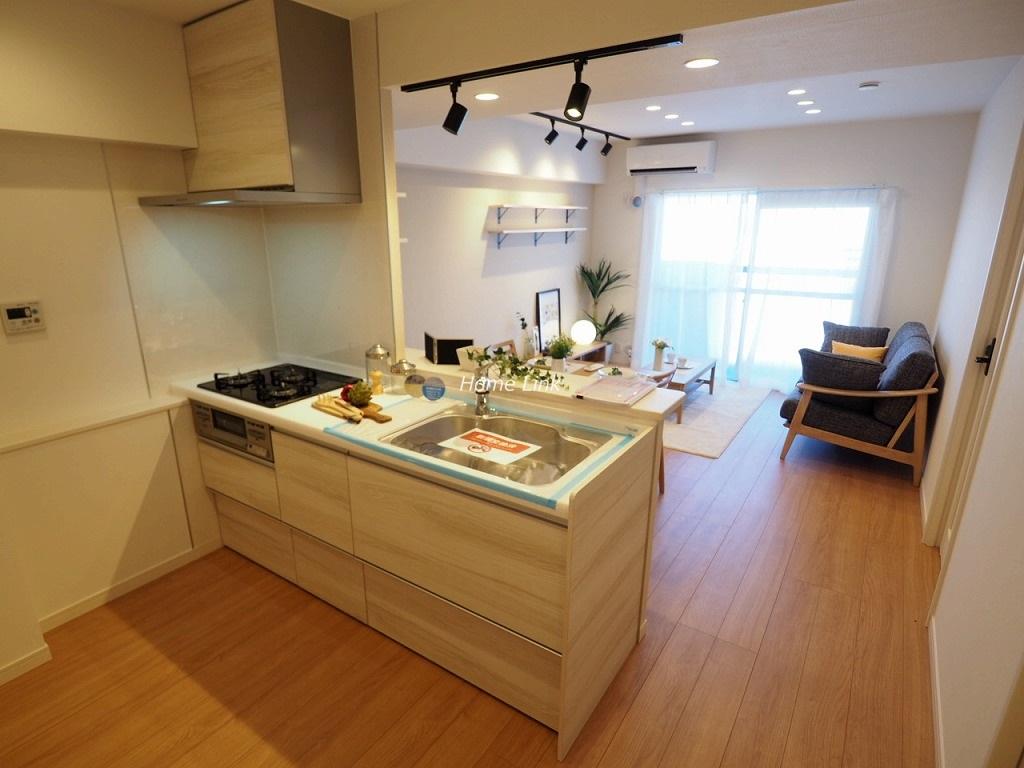 ライオンズマンション北池袋10階 対面カウンターキッチン