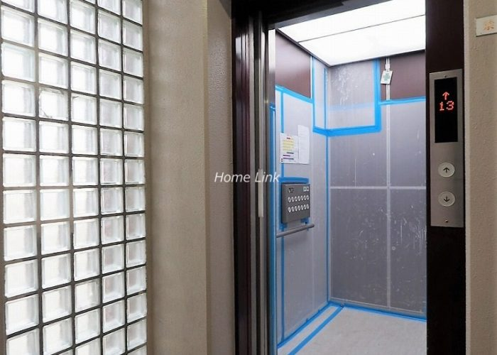 朝日板橋マンション エレベーター
