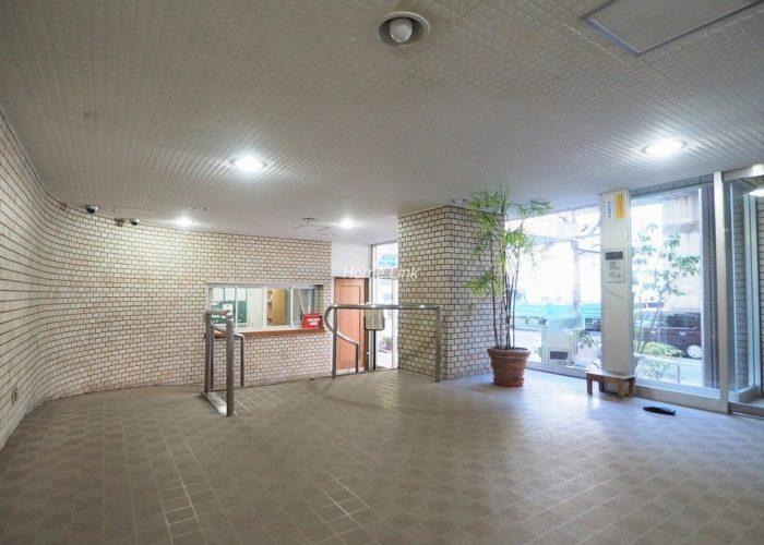朝日板橋マンション エントランスホール