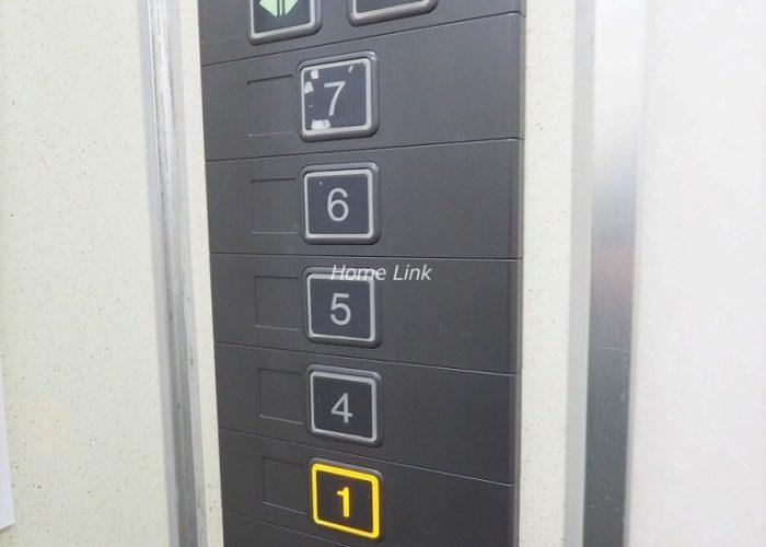 桜川グレースマンション エレベーター停止階
