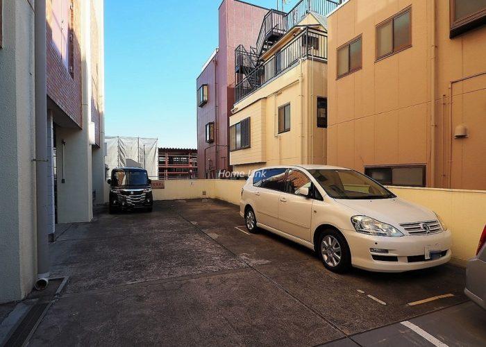 桜川グレースマンション 駐車場