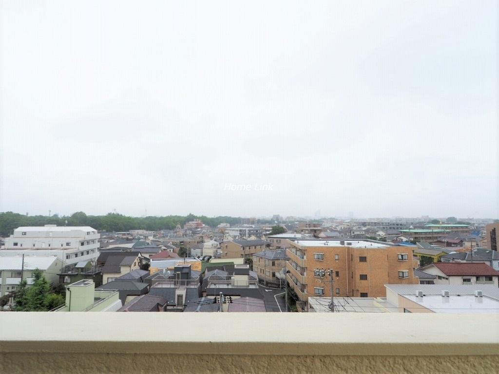 桜川グレースマンション5階 眺望